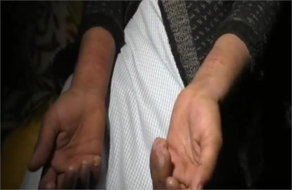 negligence gang rape of widow woman in bulandshahar