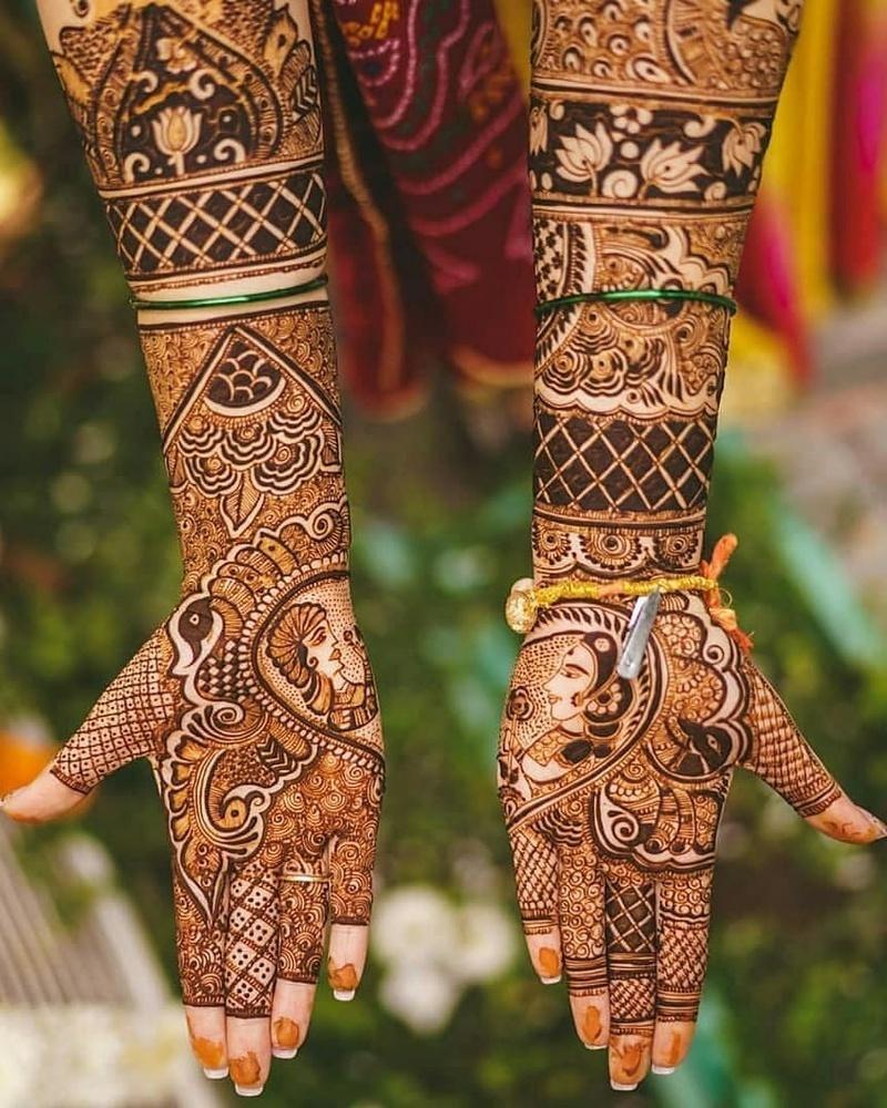 PunjabKesari,मेहंदी डिजाइन इमेज, Dulhan Mehndi Designs for Hands,दुल्हन मेहंदी डिजाइन फॉर हैंड