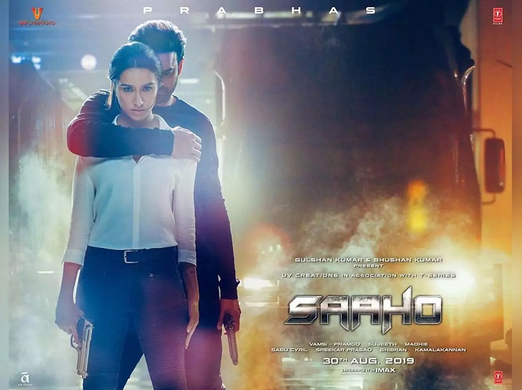 Bollywood Tadka, saaho poster