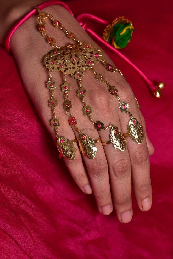 PunjabKesari, Nari, HaathPhool Design Image, हाथफूल डिजाइन्स इमेज