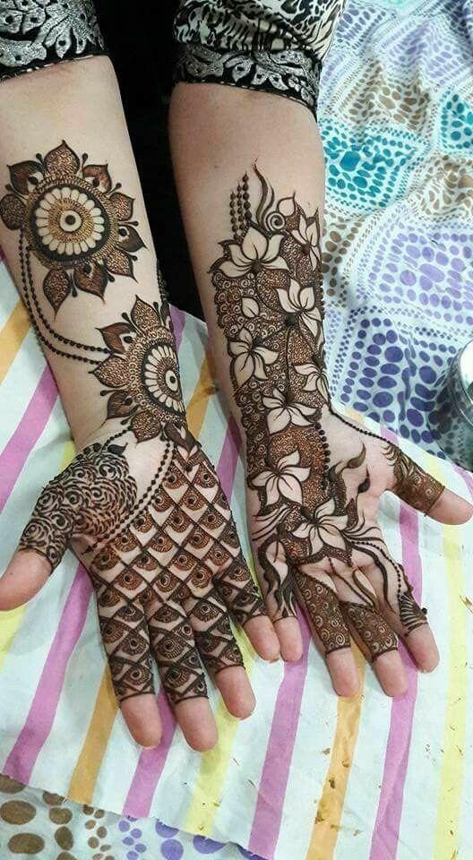 PunjabKesari, मेहंदी डिजाइन फोटो,Bridal Mehndi Design Photo,ब्राइडल मेहंदी डिजाइन फोटो