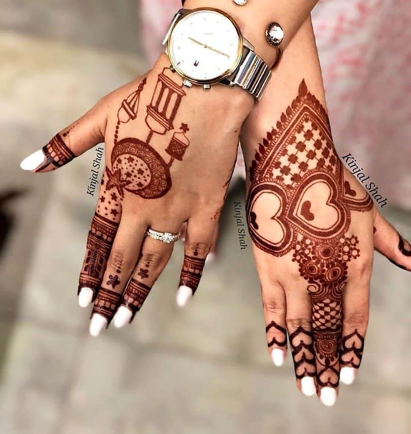PunjabKesari, अरेबिकमेहंदीडिजाइन इमेज,Arabic Mehndi Design for full Hand,अरेबिकमेहंदीडिजाइन फॉर फुल हैंड