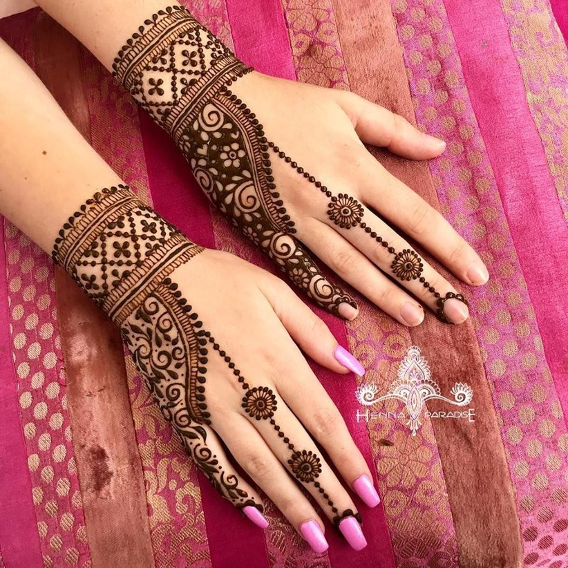 PunjabKesari, मेहंदी डिजाइन इमेज,Arabic Bridal Mehndi Designs,अरेबिक ब्राइडल मेहंदी डिजाइन