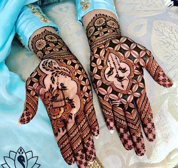 PunjabKesari, Latest Full Hand Mehndi Design Image,लेटेस्ट फुल हैंड मेहंदीडिजाइन इमेज