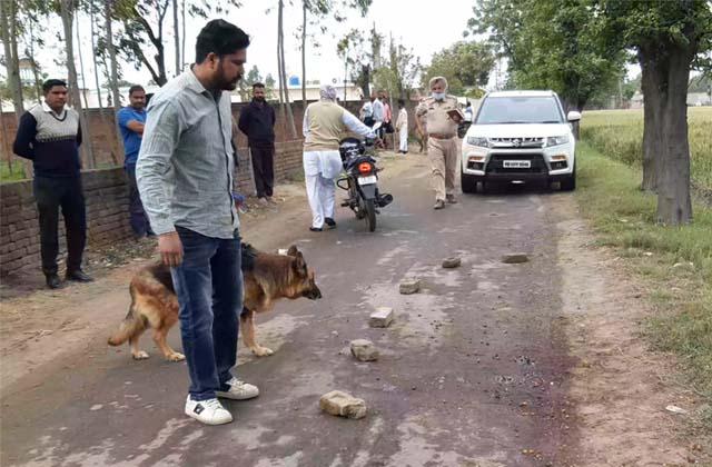 PunjabKesari, murder of person with sharp weapons