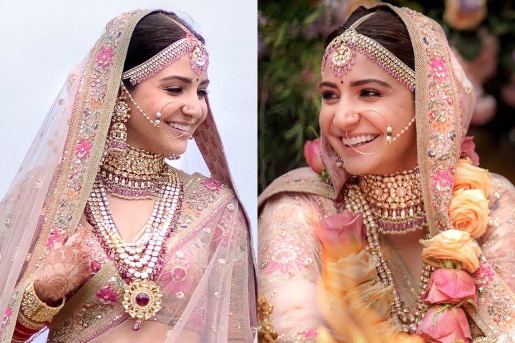 PunjabKesari, Anushka Sharma  Wedding Jewellery