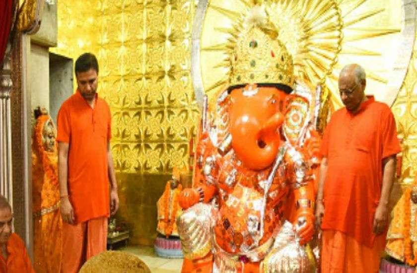 PunjabKesari, Moti Dungri Ganesh Temple, Jaipur, Moti Dungri Ganesh Temple in Jaipur, मोती डूंगरी गणेश मंदिर, गणेश चतुर्थी 2019, Ganesh Chaturthi 2019, Dharmik Sthal, Religious Place in india