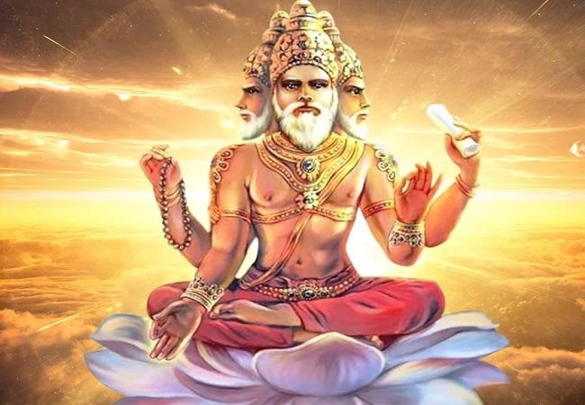 PunjabKesari, Brahma, Brahma Image, ब्रह्मा