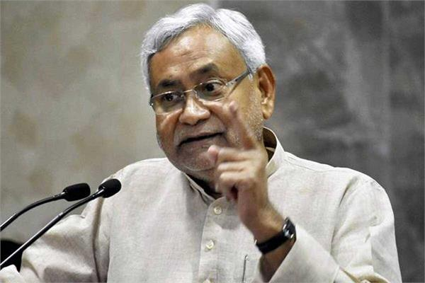 the fight against crime corruption and communalism will continue nitish