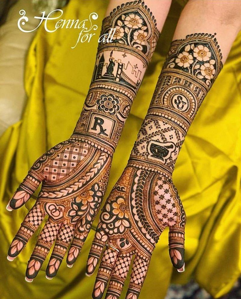 PunjabKesari, मेहंदी डिजाइन फोटो,New Bridal Mehndi Design Photo,न्यू ब्राइडल मेहंदी डिजाइन फोटो