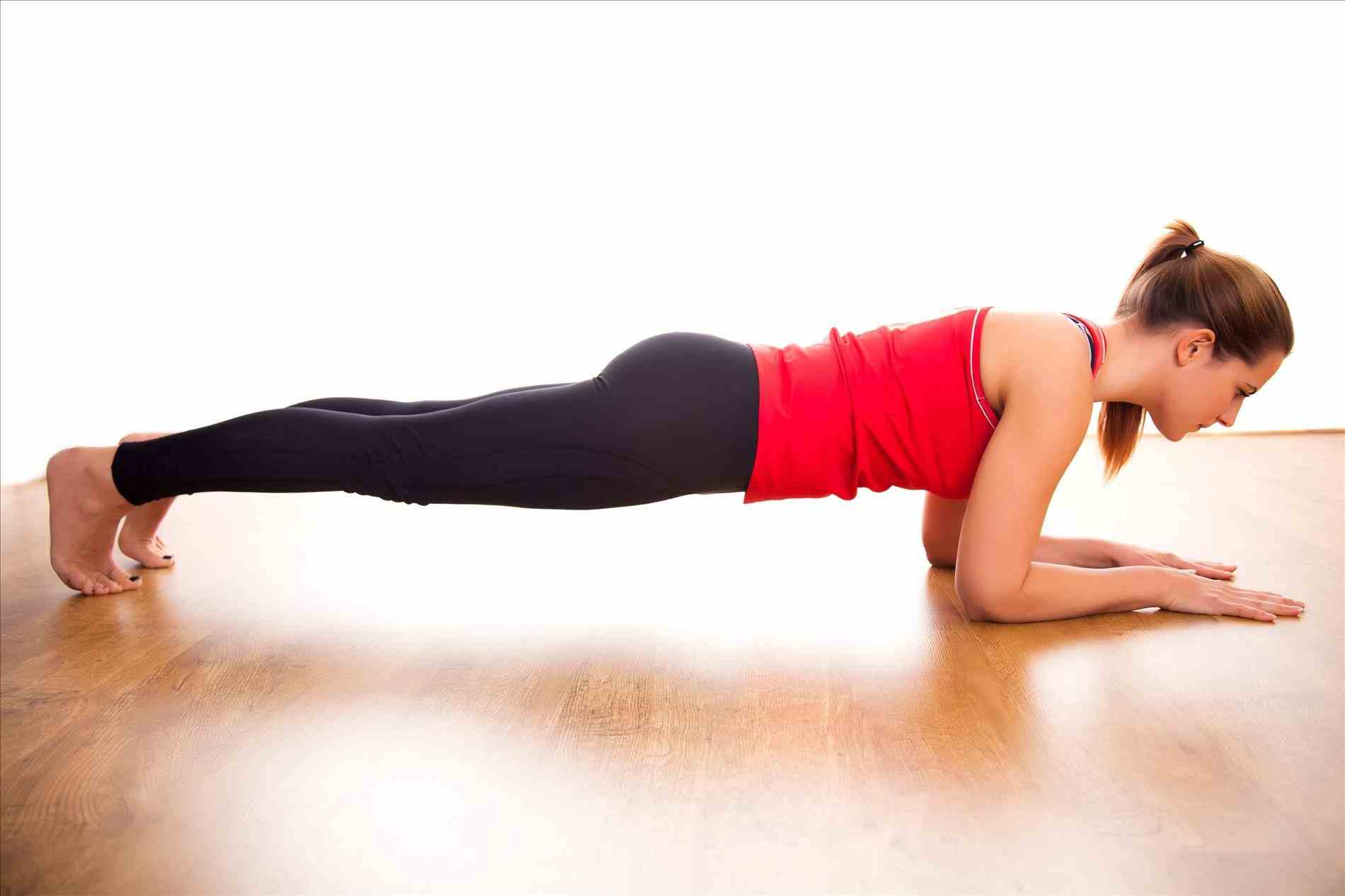 PunjabKesari, Nari, Plank Exercise, Lower Belly Fat Image