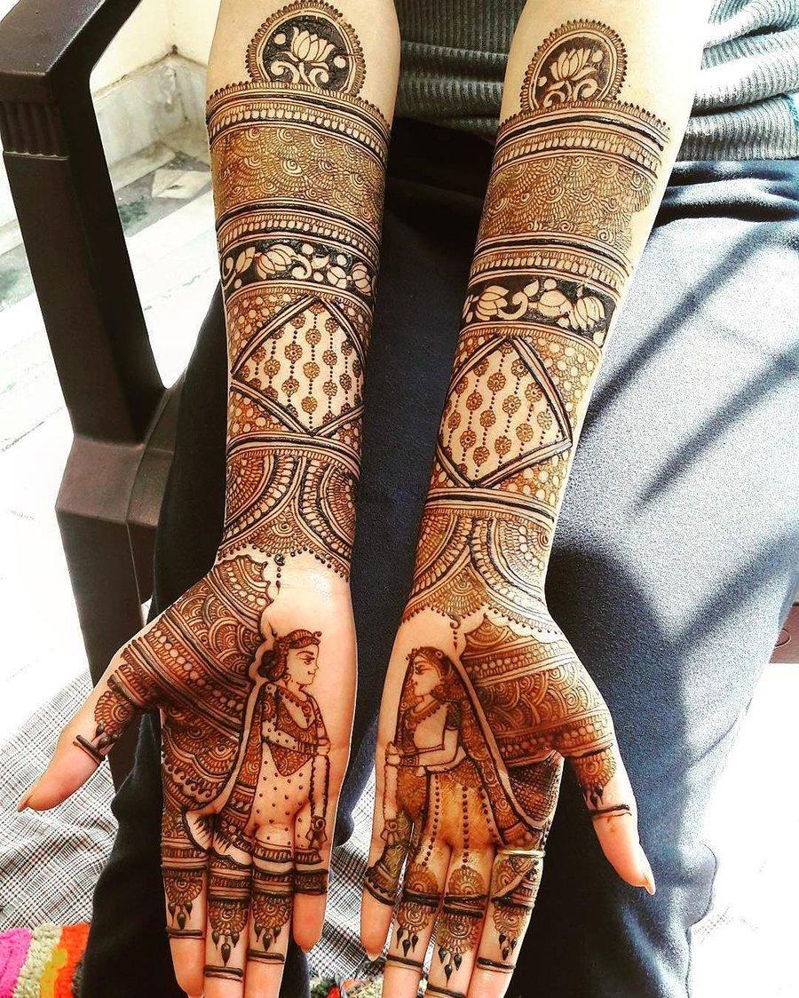 PunjabKesari, Beautiful Mehndi Design For Bride, ब्यूटीफुलमेहंदीडिजाइन फॉर ब्राइड