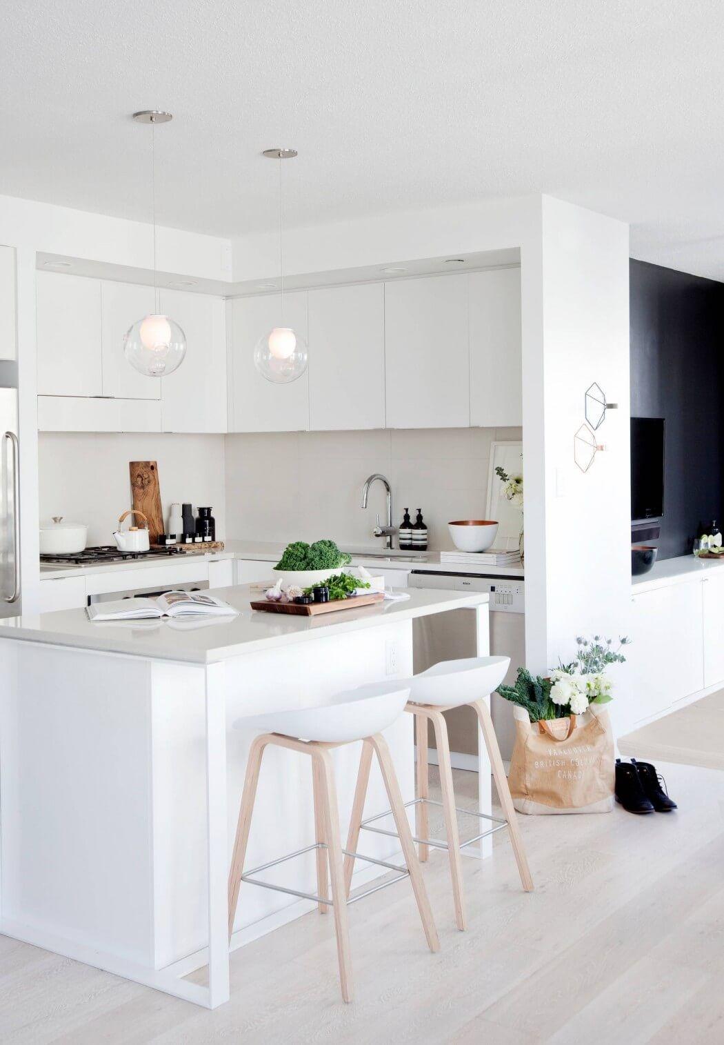 PunjabKesari, Nari, Modern white kitchen Image, Open Kitchen Image