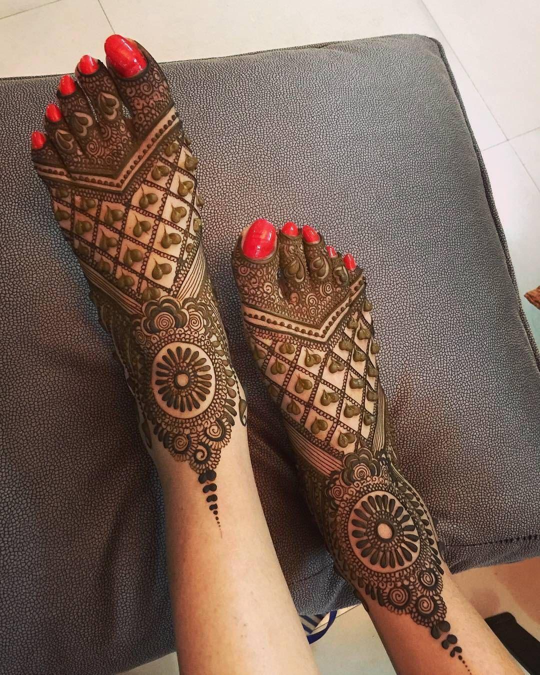 PunjabKesari, Latest Mehndi Designs for Foot, लेटेस्ट  मेहंदी डिज़ाइन फॉर फुट