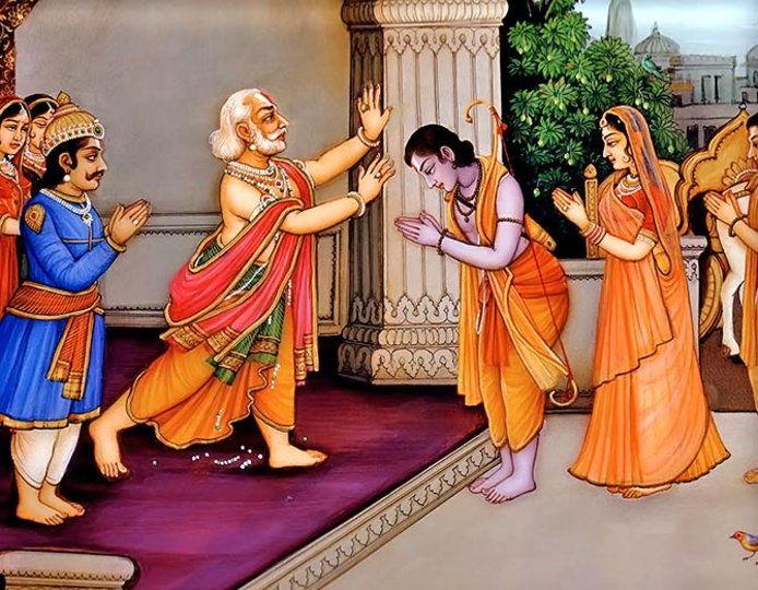 PunjabKesari, Dashrath, Raja Dashrath, राजा दशरथ, कैकयी, Kaikeyi, Sri ram, Mata Sita, Lakshman