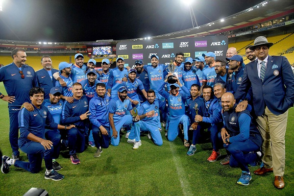 Team india on 2nd spot in ICC ODI Ranking