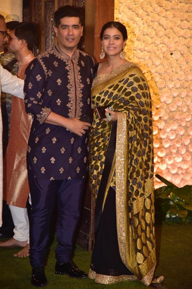 Bollywood Tadka, Kajol At Ambani's Event