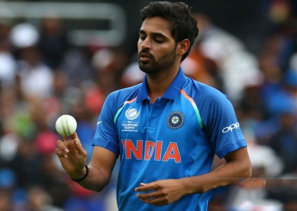 Bhuneshwar become first bolwer to take wicket by bowled in T20, ODI & Test cricket