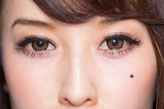 PunjabKesari, Meaning of mole on your face, Eye mole