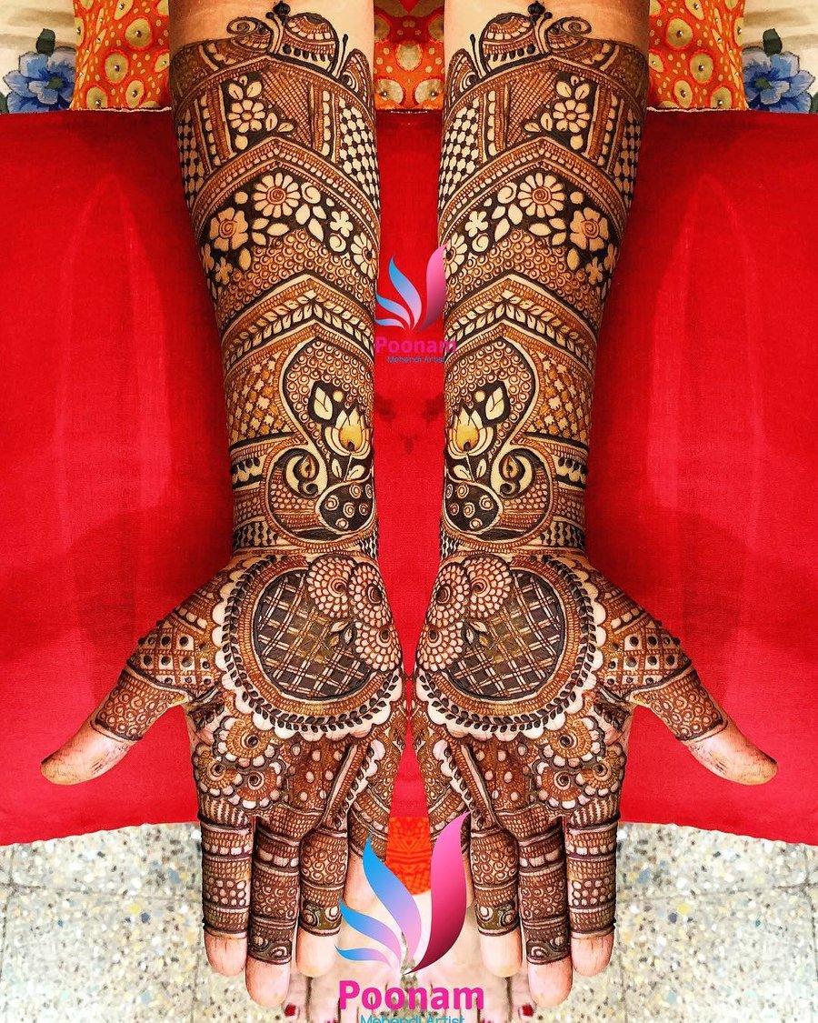 PunjabKesari, New Bridal Mehndi design image, न्यू ब्राइडल मेहंदी डिजाइनइमेज