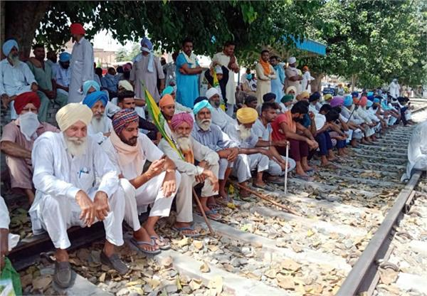 farmer protest chakka jam in many districts of up protest will continue