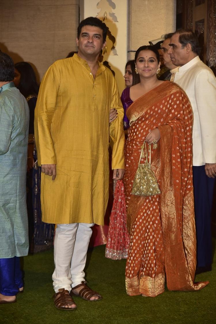 Bollywood Tadka,  Vidya At Ambani's Event