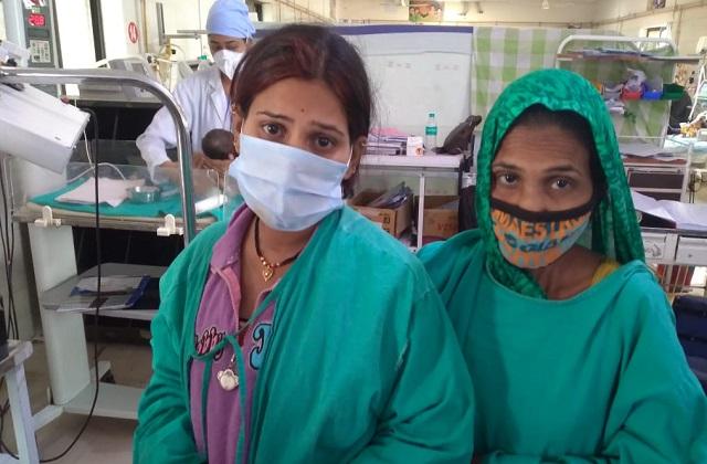PunjabKesari,  Stolen Child, MY Hospital, Indore Hospital, Indore Child Stolen, Indore, Madhya Pradesh