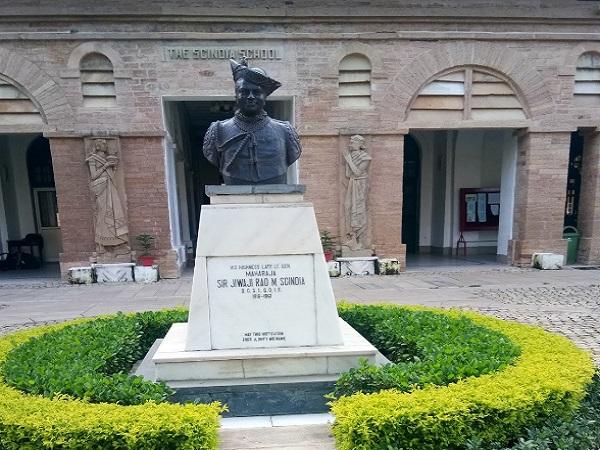 PunjabKesariMadhya Pradesh News, Gwalior News, The Scindia School, Scindia Fort, Gwalior Fort, Jyotiraditya Scindia