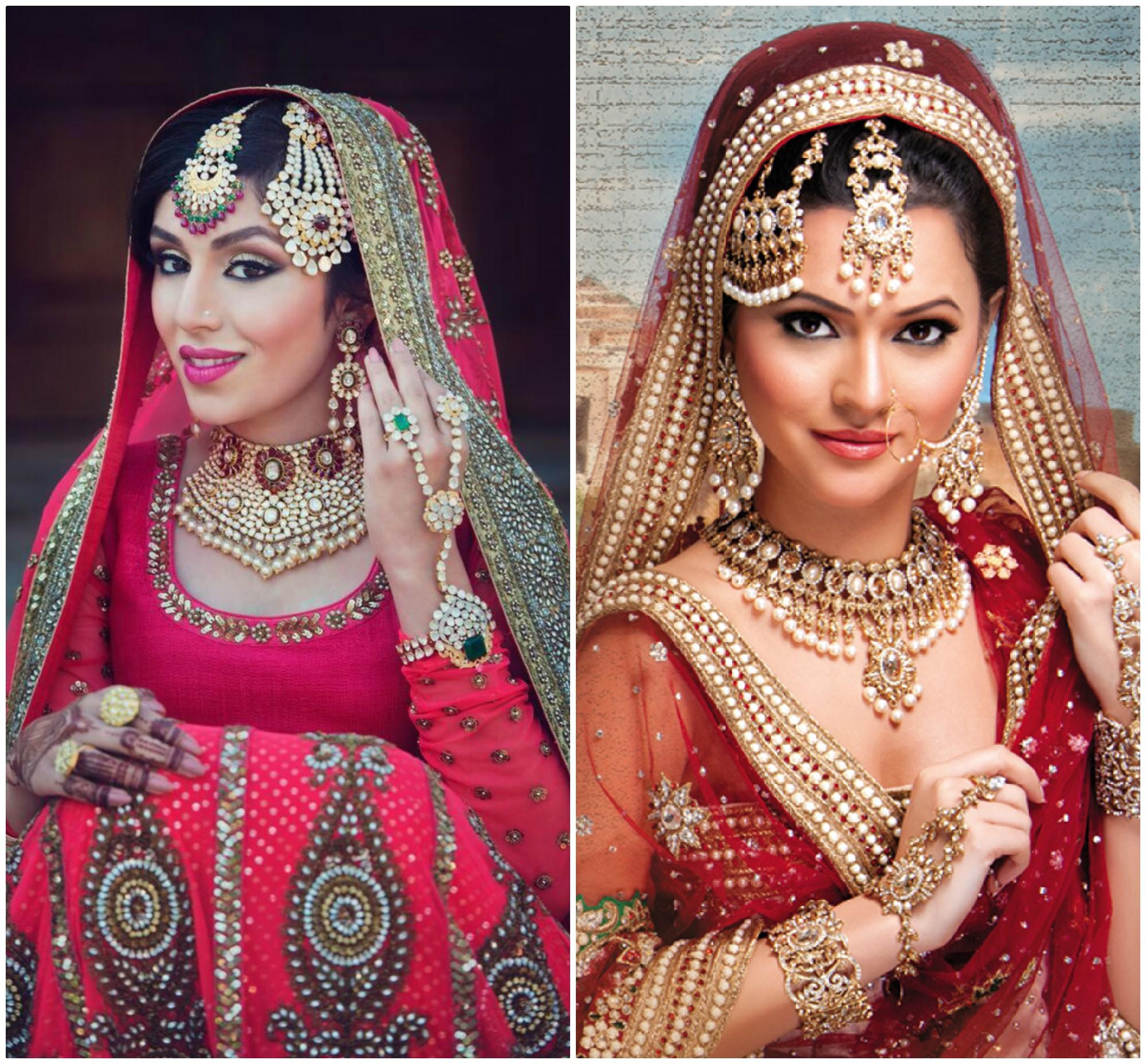 PunjabKesari, ब्राइडल लुक फोटो,रजवाड़ा ब्राइडल लुक फोटो, मुगल ब्राइडल लुक