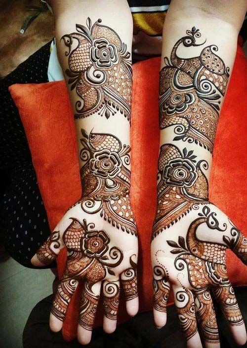 PunjabKesari, New Heena Mehndi Design Image,न्यूहिनामेहंदी डिजाइनइमेज