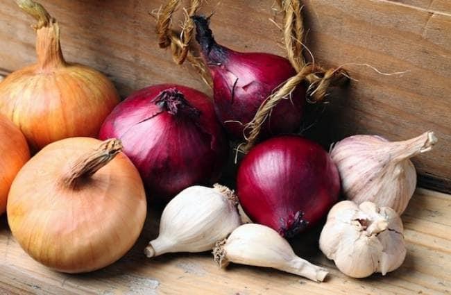 PunjabKesari, kundli tv, onion garlic image