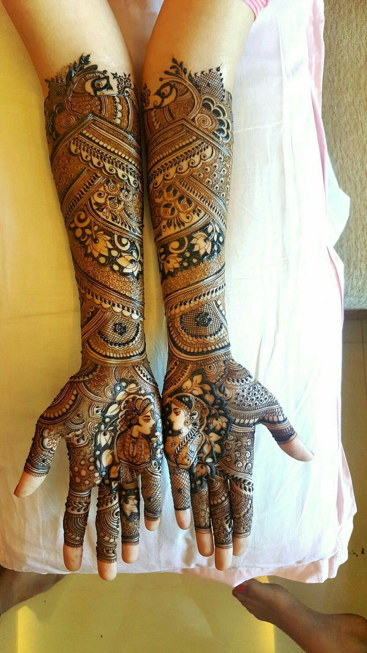 PunjabKesari, New Mehndi Design For Full Hands, न्यू मेहंदी डिजाइन फॉर फुलहैंड