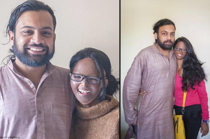 PunjabKesari, Laxmi with Alok