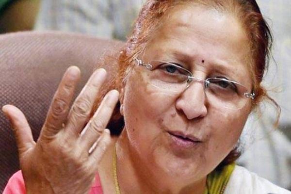 lok sabha bjp sumitra mahajan lok sabha seat indore