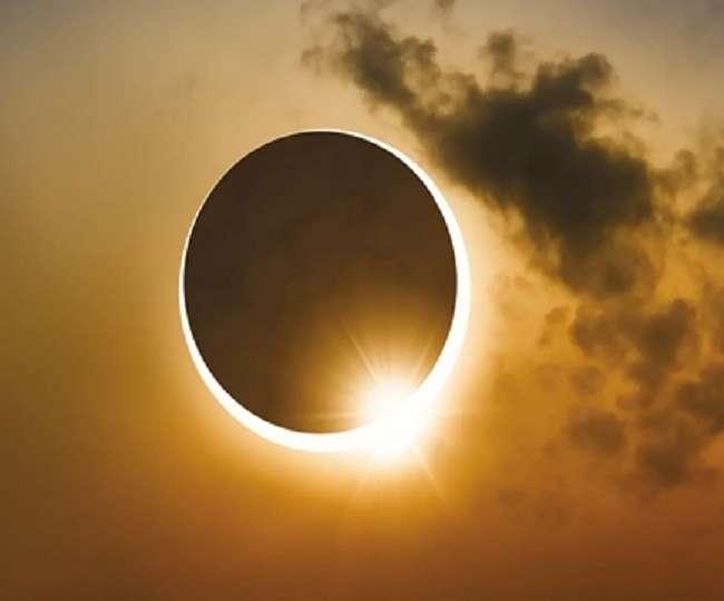PunjabKesari, Solar eclipse, Eclipse, सूर्यग्रहण, ग्रहण, ग्रहण आरंभ, ग्रहण समाप्त, Zodiac Signs, Astrology, Horoscope, Jyotish Gyan, Jyotish Vidya, Jyotish Shastra