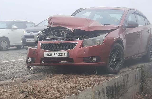 PunjabKesari, terrible road accident on Jalandhar-Ludhiana highway