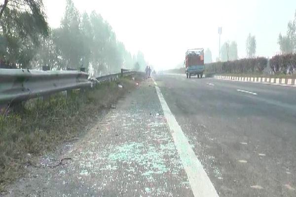 PunjabKesari,accident, highway, dead