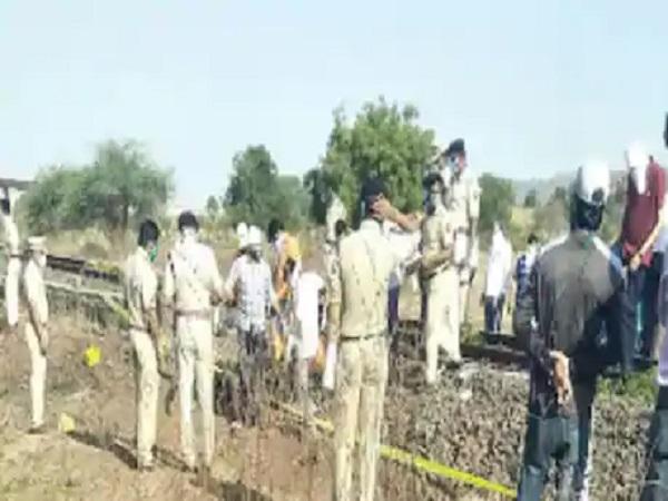 PunjabKesari, Aurangabad railway accident, rail accident, Madhya Pradesh, Shahdol