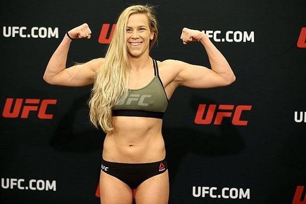 UFC contender begs fans: Stop sending me your Adult pics