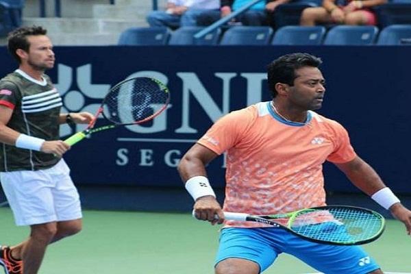 PunjabKesari, Sports news, tennis news hindi, Knoxville Challenger Tennis, Paes-Varela, Lose in Quarterfinals