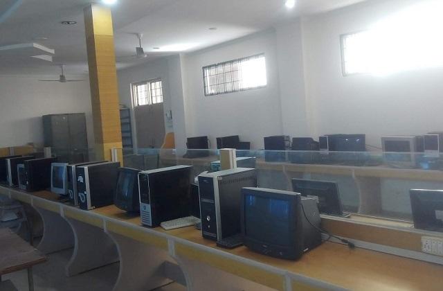 PunjabKesari, Madhya Pradesh, Gwalior, Jeevaji University, Computer Lab, Examination