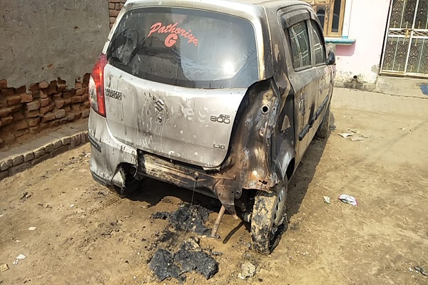 PunjabKesari,vehicle, home, police, crime