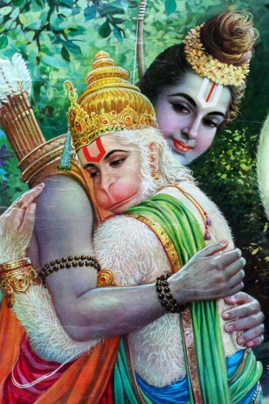 PunjabKesari, kundli tv, lord ram and hanuman image