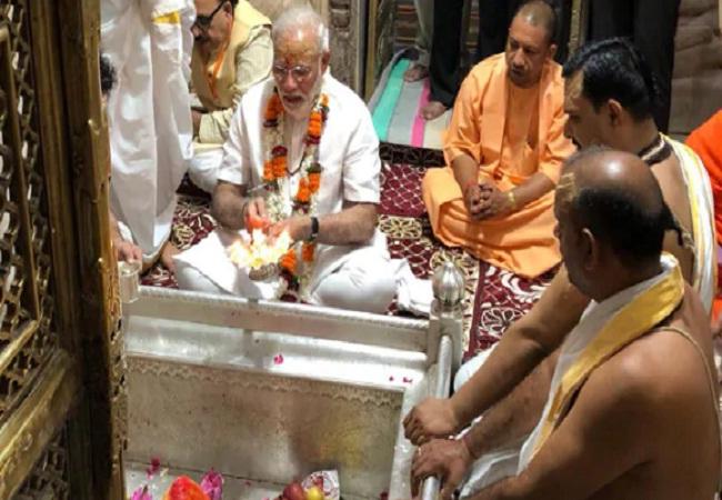 PunjabKesari, Kashi Varanasi , Kashi Vishwanath Temple, Modi ji visit Kashi Vishwanath Temple