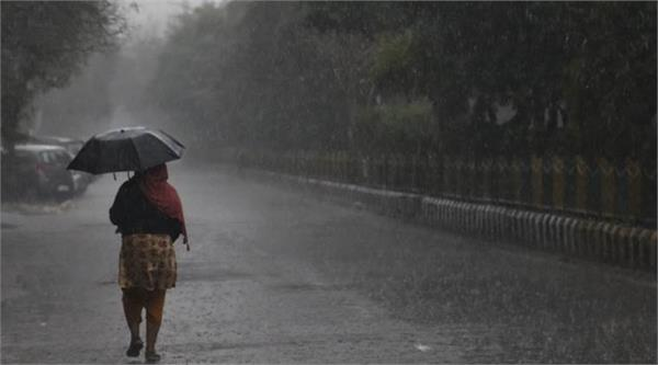 there may be rains in haryana punjab and himachal from today