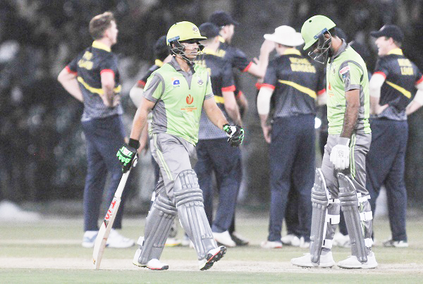 MCC beat Lahore Qalandars in First friendly match