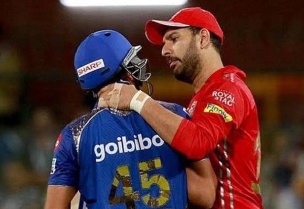 Yuvraj singh sent message to Mumbai indians official, say- I'm happy