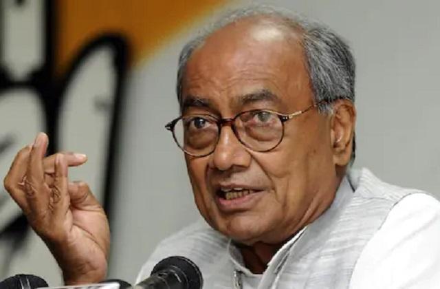 PunjabKesari, Madhya Pradesh, Indore, Digvijay Singh, Congress, BJP, Shivraj Singh Chauhan