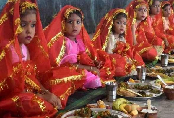 PunjabKesari kanjak pujan