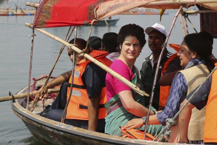 PunjabKesari, Priyanka Gandhi Visit Kashi Varanasi